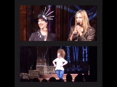 Stage Screen and In Between with HELEN - NYFW 2017 ART HEARTS - Mira Sorvino and Madeline Stuart