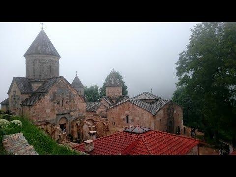 Наш Тур по Армении - Часть 3 - Агарцин (Հաղարծին) - попали в жуткий туман