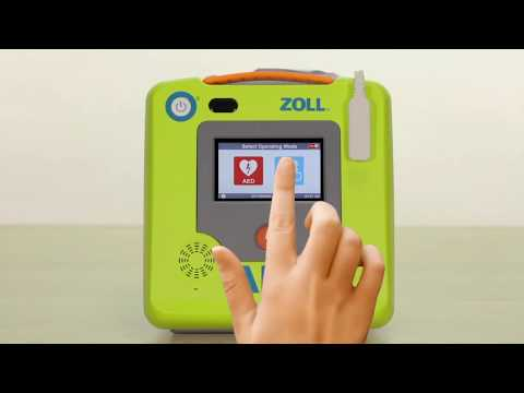 ZOLL AED 3 Advanced LCD Touchscreen Configuration