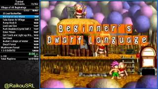 (World Record) Tomba! All Events(100%) in 1:28:10