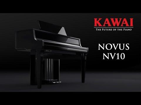 KAWAI NOVUS NV10 Hybrid Digital Piano DEMO - ENGLISH
