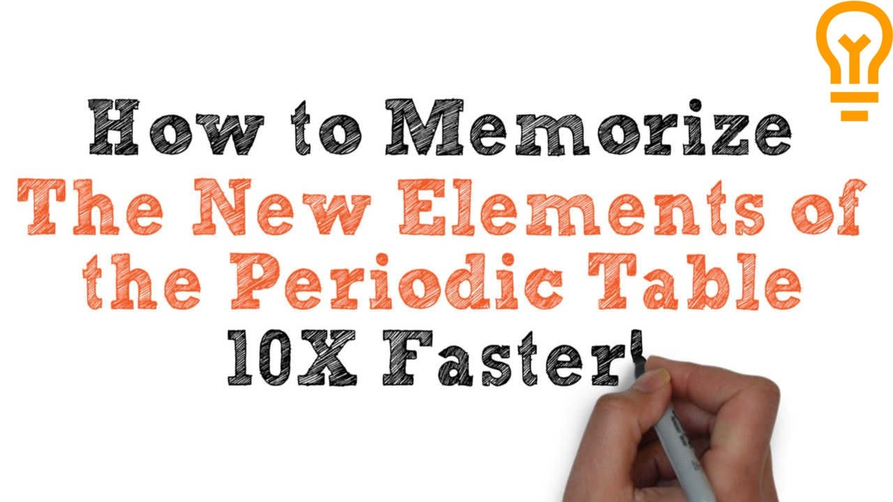 How to learn the periodic table song choice image periodic table how to memorize the new elements of the periodic table youtube how to memorize the new gamestrikefo Image collections