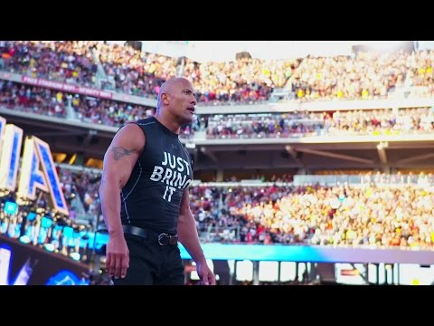 Smell what The Rock is cooking on WWE Network