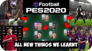 All New Things We Learnt From PES 2020 Mobile Trailer