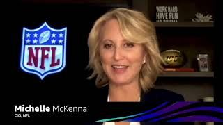 AWS re:Invent 2020 – Michelle McKenna of the NFL on using AWS to produce the 2020 NFL draft