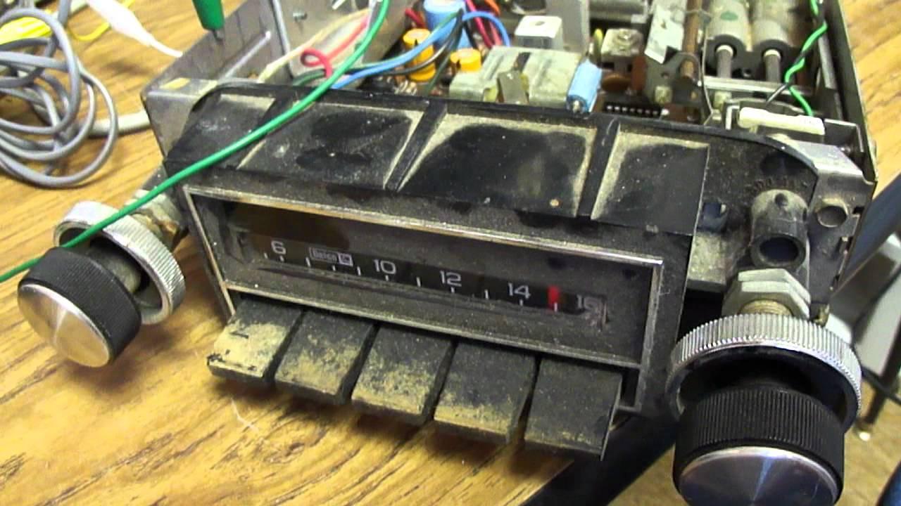 medium resolution of 1981 gm delco am car radio youtube gm delco radio wiring color code gm delco radio wiring