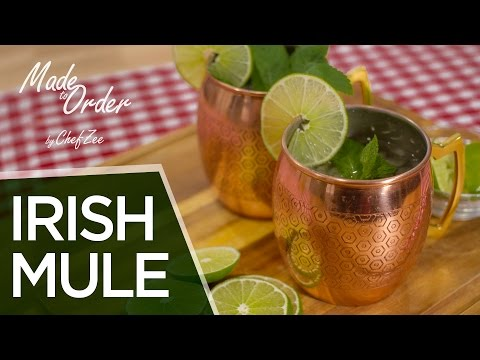 How to Make an Irish Mule   St. Patrick