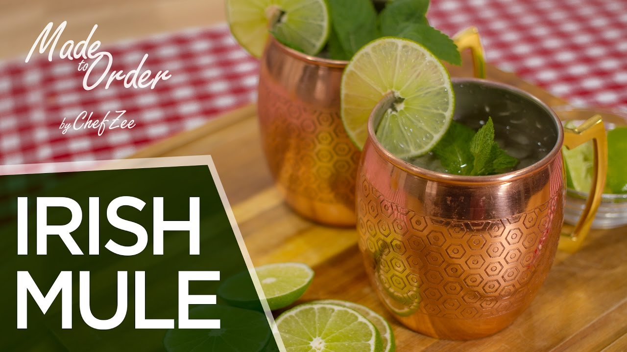 How To Make A Irish Mule Drink