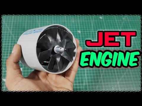 Homemade Electric Jet Engine (edf Fan) Powerful 😯🔥