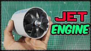Homemade electric Jet Engine