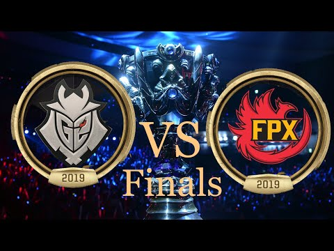 G2 VS FPX | ЧЕМПИОНАТ МИРА ФИНАЛ 2019 | League Of Legends