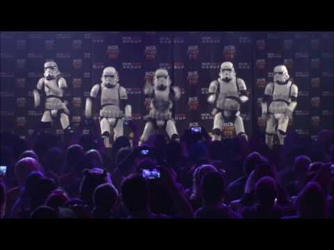 Boogie Storm Give It The Full Stormtrooper Stomp @ MCM London Comic Con