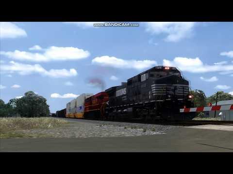 Train Simulator 2020: NS Trains on the KCS Dallas Sub  