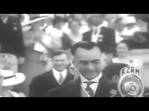 July and August, 1944 Newsreel: 5th Army In Italy; Manuel Quezon Dead; Marines Land On Guam (full)