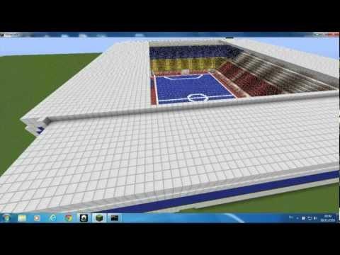 สนาม ฟุตซอลโลก minecraft
