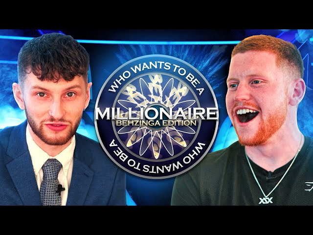 Who Wants To Be A Millionaire? (Behzinga Edition)