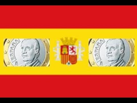 RARE 1 euro coin SPAIN !
