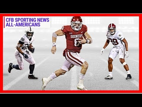 Sporting news 2017 college football all-americans