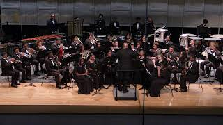 2019 EE Smith HS Symphonic Band - Crown of Thorns - Julie Giroux