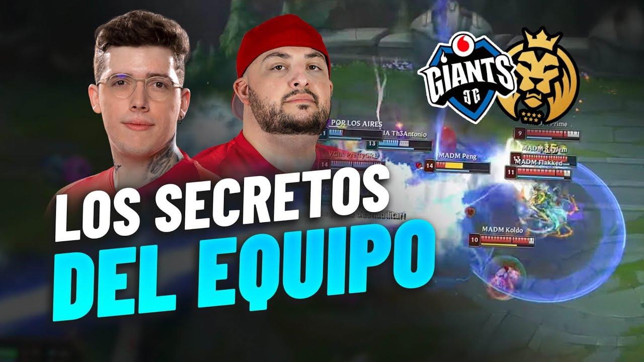 EL ANÁLISIS DE ATTILA Y MANUTE | Los secretos del Vodafone Giants vs MAD Lions Madrid | SLO