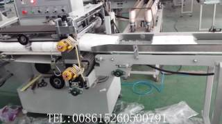 Automatic multi roller toilet paper kitchen towel packing side sealing machine