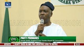Saraki Seeks Support From Taraba Ahead Of PDP Convention