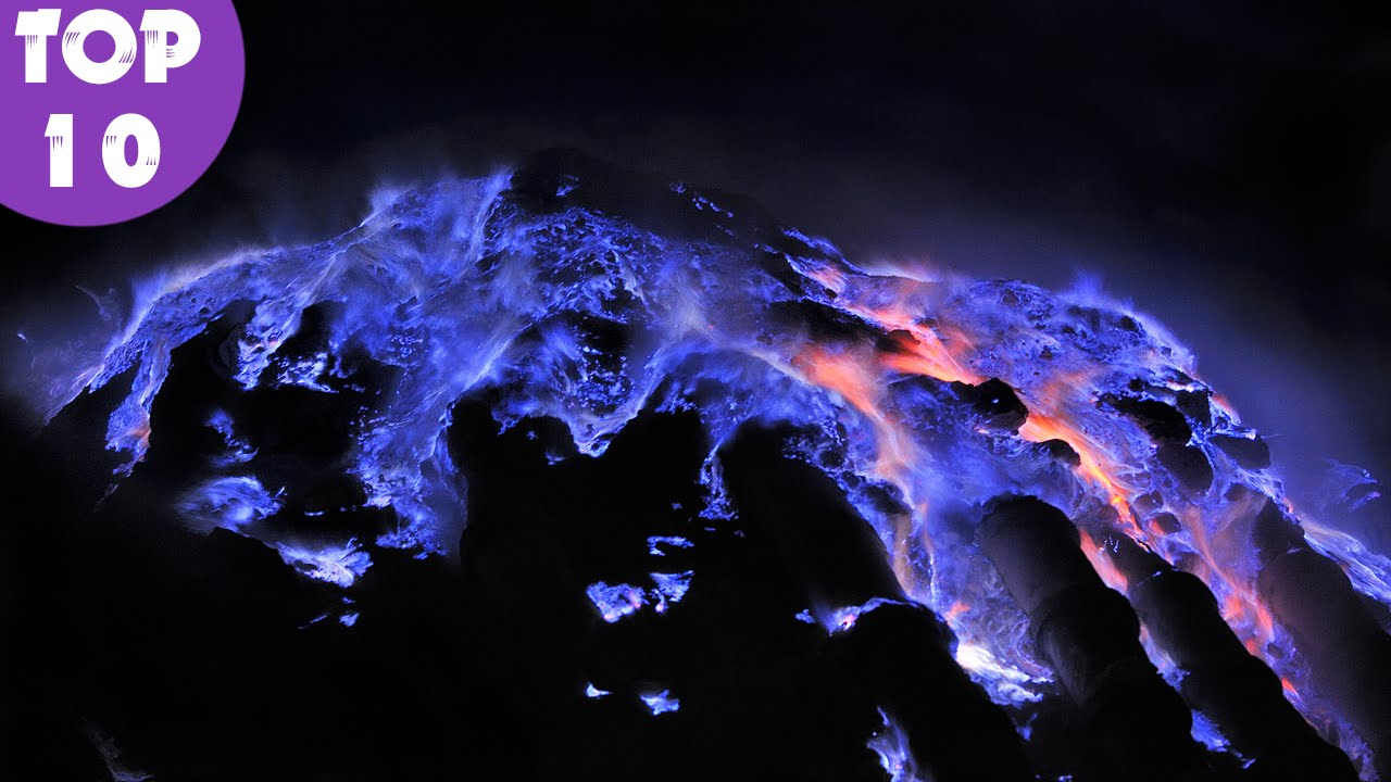 best faks about volcano