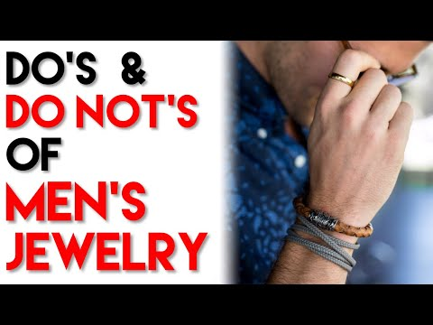 How To Wear Men's Jewelry | Do's And Don'ts