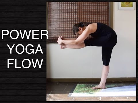 Strong Power Vinyasa Flow Yoga for Balance - 30 minutes (Intermediate and Advanced)