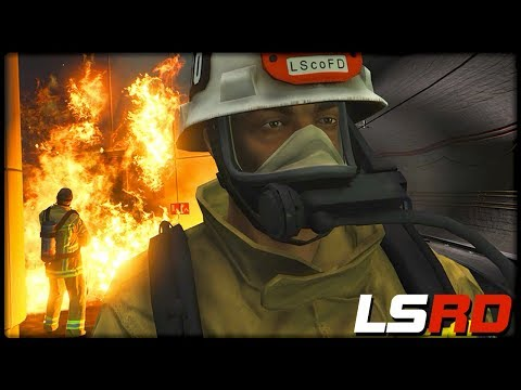 GTA 5 LSRD | Brand in der U-Bahn - Deutsch - Grand Theft Auto 5 Los Santos Rescue Division thumbnail