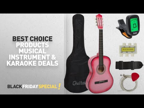 Walmart Top Black Friday Best Choice Products Musical Instrument & Karaoke Deals: New Beginners