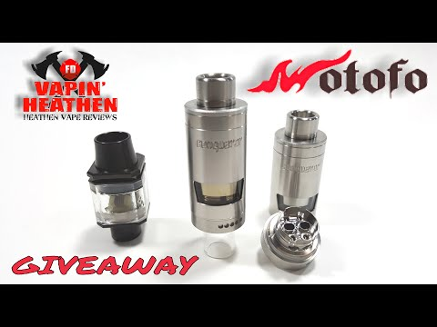 Conqueror Postless RTA and Black Ice Cubed RDA with Build | Wotofo | Giveaway