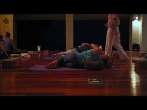 Evening Restorative Yoga Class with Indira Kate Kalmbach