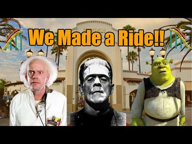Creating The Perfect Universal Studios Hollywood Ride!