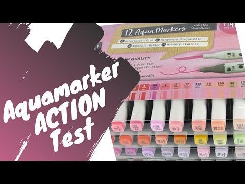 Aquamarkers - ACTION - Test