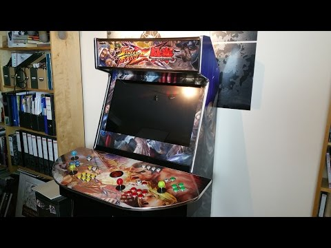 Custom Arcade Cabinet Review - 4-player Turnarcades Monster!!!