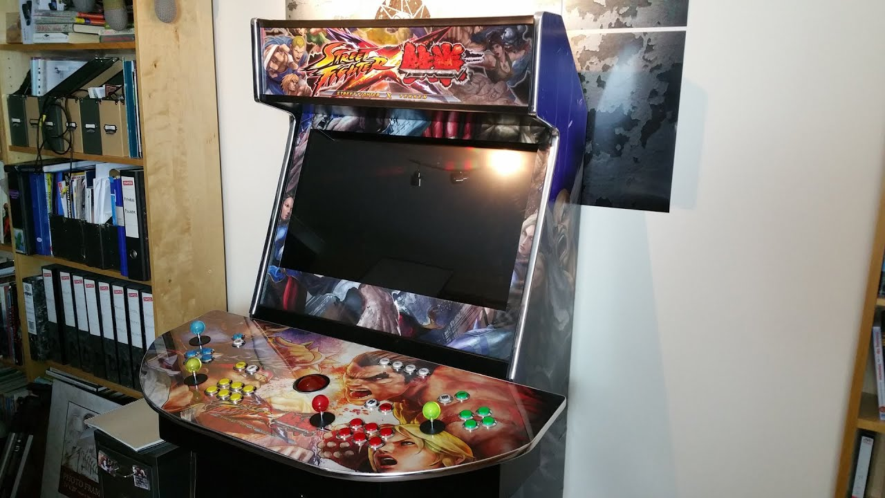 Custom Arcade Cabinet Review - 4-player Turnarcades Monster ...