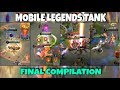 MLBB TANK HEROES COMPILATION final | WOLF XOTIC | MOBILE LEGENDS