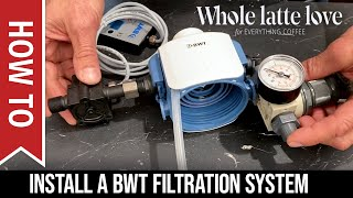 How To Install a BWT Filtration System