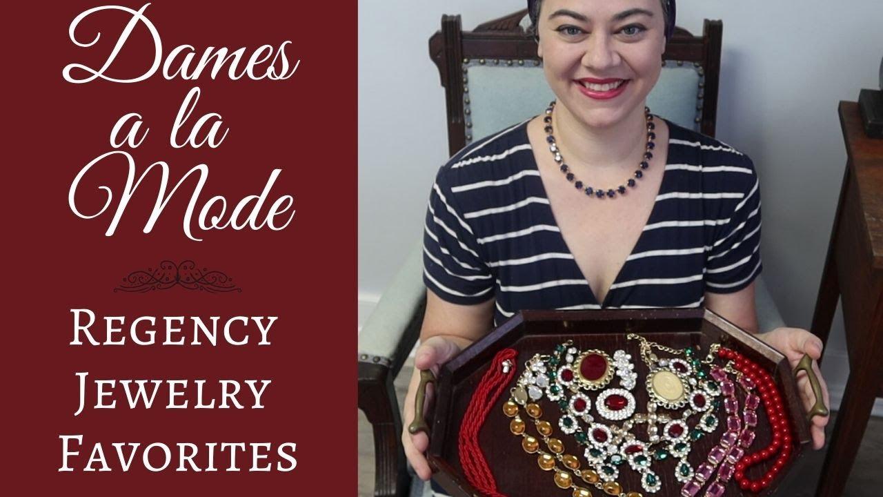 Dames a la Mode Products - Regency Jewelry Favorites!