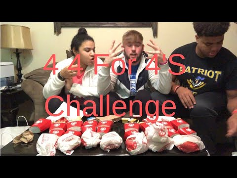 4 4 FOR $4 CHALLENGE!!! WHO WON???