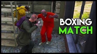 Crazy Boxing Match vs MIKE TYSON - Going SOLO & Friendly?!  (Scum Gameplay Part 8)