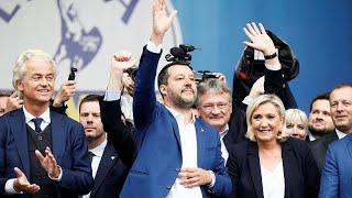 Wahlkampf vor der Europawahl: Rechtsallianz von Salvini trifft sich in Mailand