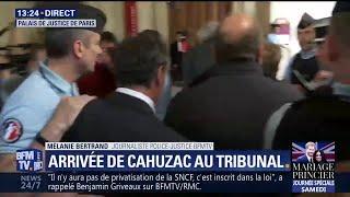 Procès en appel: Jérôme Cahuzac est arrivé au Palais de justice