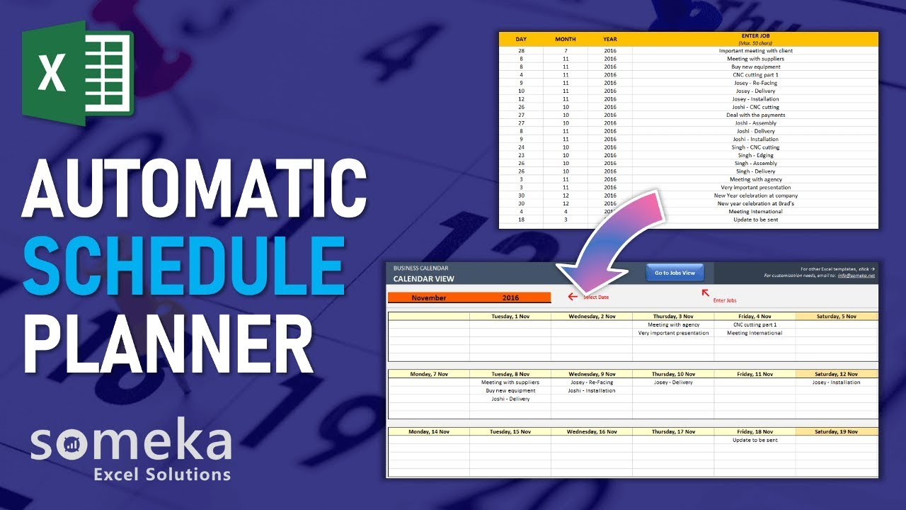 Schedule Maker Excel Template from i.ytimg.com