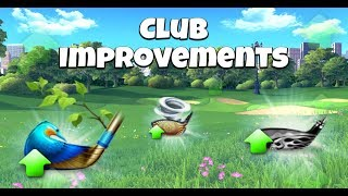 Golf Clash Announcement, CLUB IMPROVEMENTS - Live 21st of November! / Видео