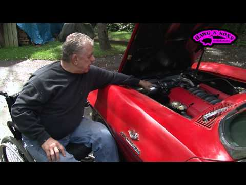 LS1 SWAP Engine IMPLANT 1963 Corvette Roadster Chevy MUSCLE CAR