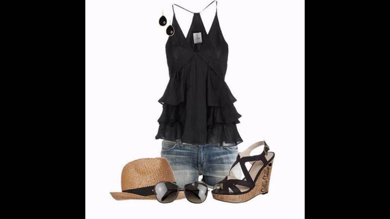 Conjuntos de ropa de moda para mujer verano youtube - Moda de este verano ...