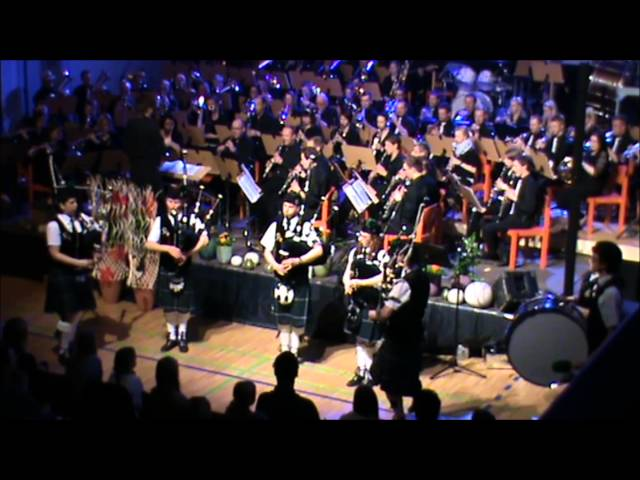 Highland Cathedral - Pipeband & Orchestra by The Styrian Panther Pipeband & Marktmusikkapelle Vorau