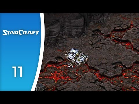 Siege Tanks: the bane of all Zerg - Let's Play StarCraft: Zerg Campaign #11